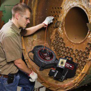 Inspection-canalisation-par-camera-avec-poussoir-de-25m
